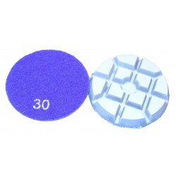 Inscribed Square-type Dry Conerete Floor Polishing Pads 80mm 30# Grit THOR-2704