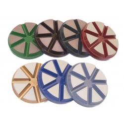 Ceramic Floor Pads 80mm 200# Grit THOR-2714