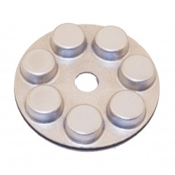 Planetary Hybrid Diamond Resin Polishing Pads 75mm 100# Grit