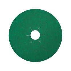 Klingspor Fibre Disc Zirconia 125x22mm Star hole Top coat 80 Grit 204096
