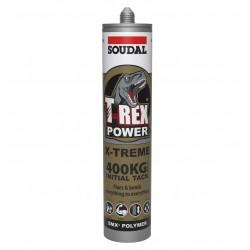 Soudal T-Rex 290ml Power X-treme Black 134842