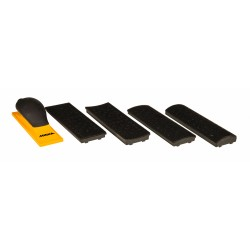 Mirka Sanding Block Kit 70x198mm Grip 40H Yellow 8391520111
