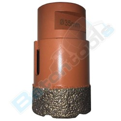 DIAREX ULTRA Vacuum Brazed 80mm with M14 thread Core Drills DCD080VDU