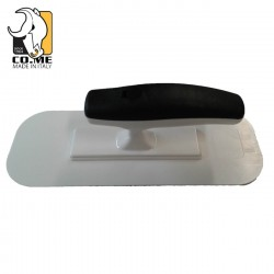 Come Finishing ABS Trowel with Rounded Profile Along All Base 330KL