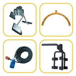 Mortar Mixer Spare Parts