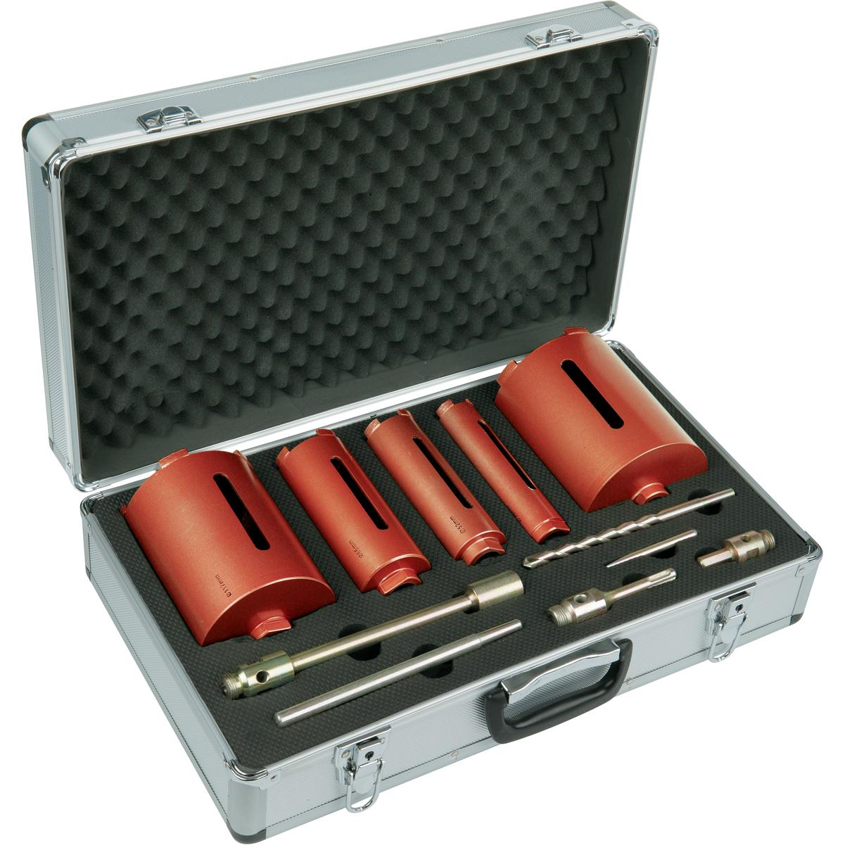 core dry ox drill kit 5pce professional cores pcc drills tools
